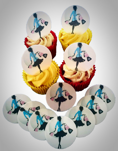 Edible Cake Toppers - Shopaholic